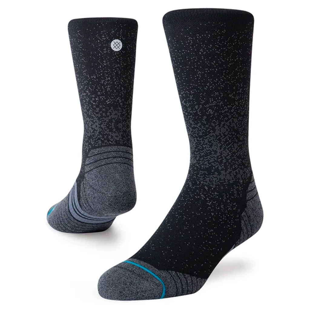 Unisex Stance Run Crew Sock - Black
