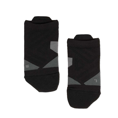Mens On Running Low Sock - Black / Shadow