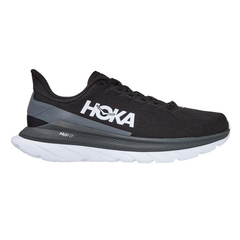 Womens Hoka Mach 4 - Black / Dark Shadow