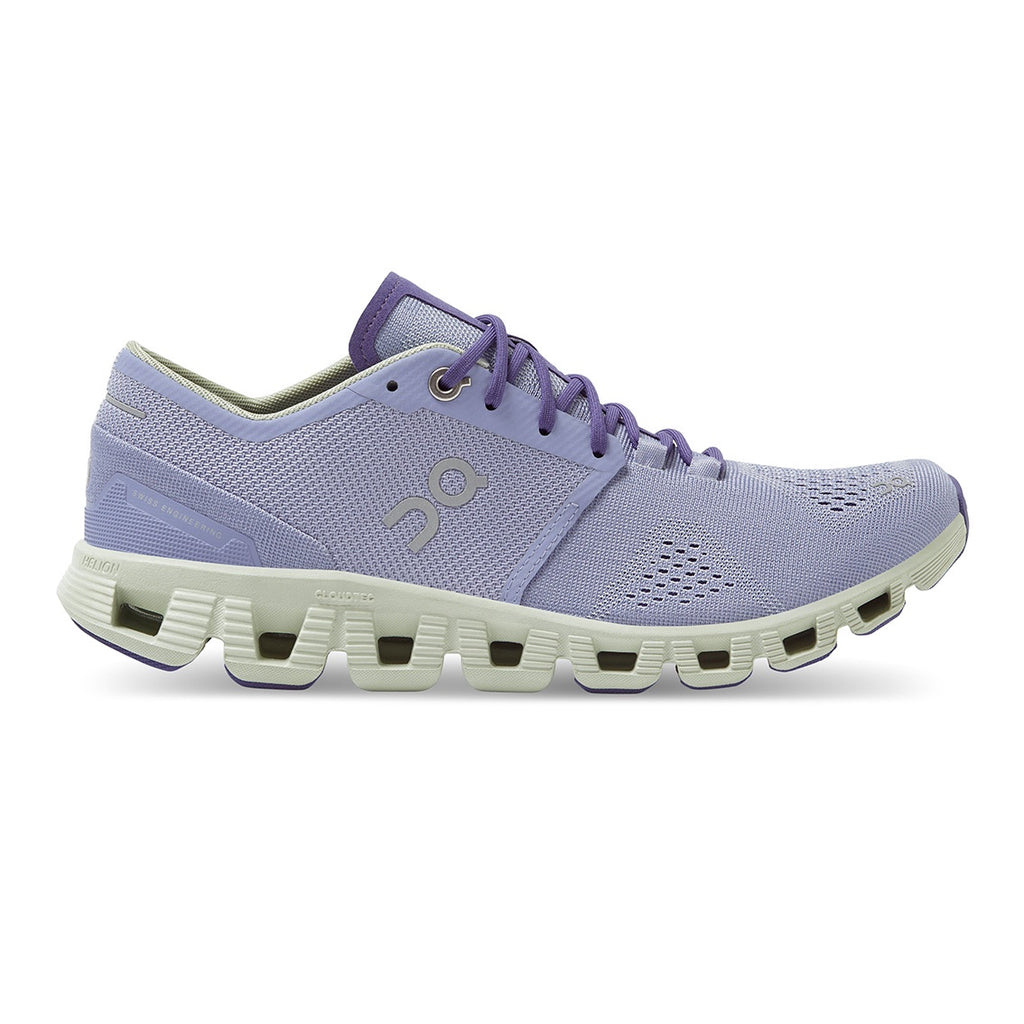 Womens On Cloud X - Lavender / Ice
