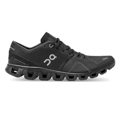 Mens On Cloud X - Black / Asphalt