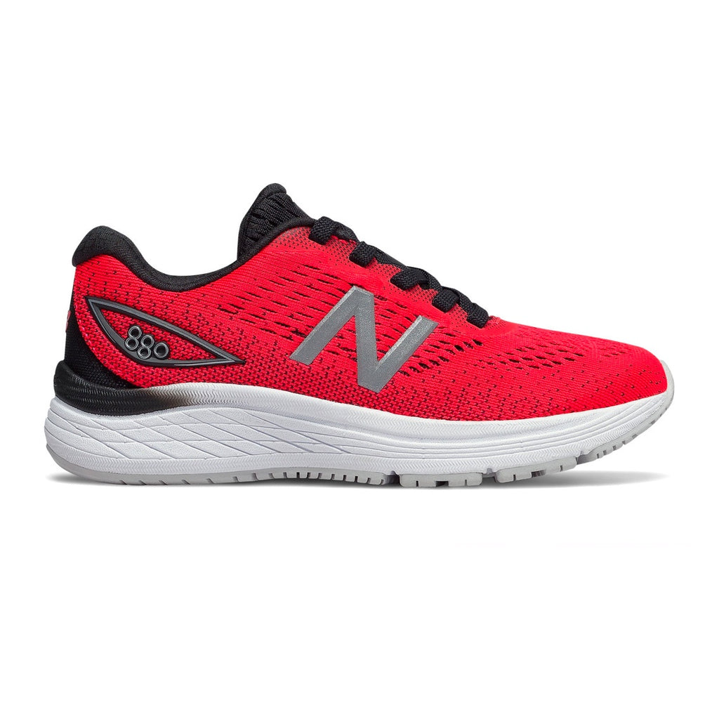 Boys New Balance 880 V9 - Black / Red