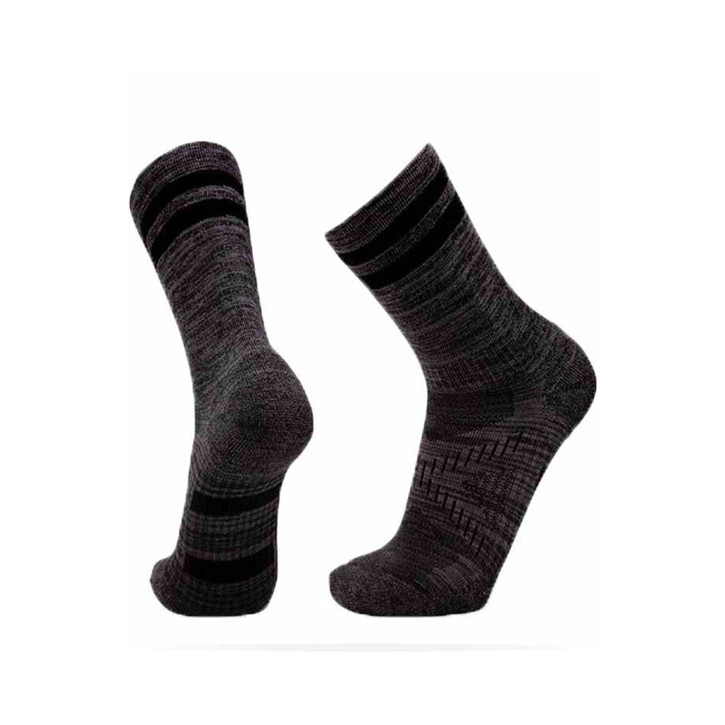 Le Bent Le Sock Trail Light 3/4 Crew - Black Marle
