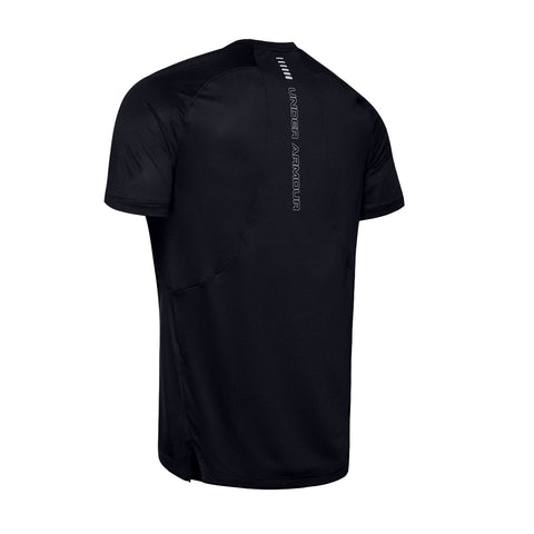 Mens Under Armour Qualifier Iso-Chill SS Shirt - Black