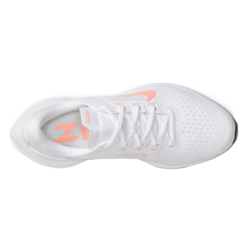 Womens Nike Air Zoom Vomero 15 - White / Crimson Pulse