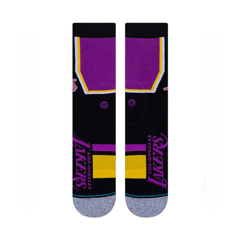 Stance Shortcut 2 Sock - L.A Lakers