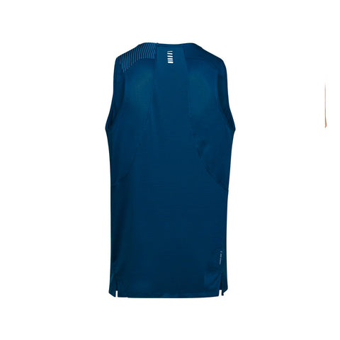 Men's Under Armour Qualifier Iso-Chill Run Singlet - Blue