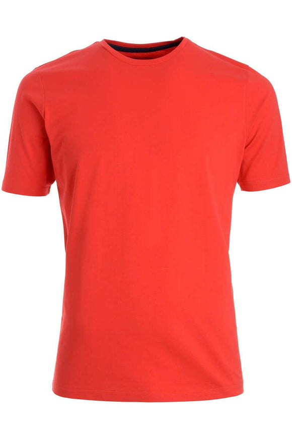 Redmond T-Shirt, regular fit, round-neck, 100% Baumwolle, rot