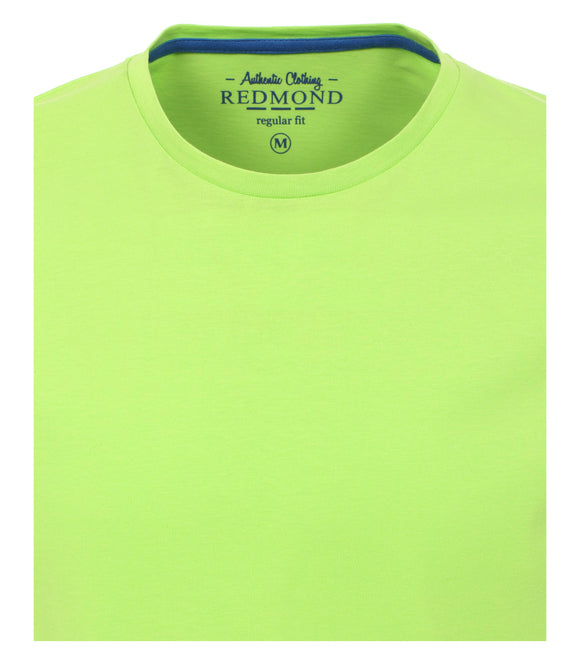 Redmond T-Shirt, regular fit, round-neck, 100% Baumwolle, grün