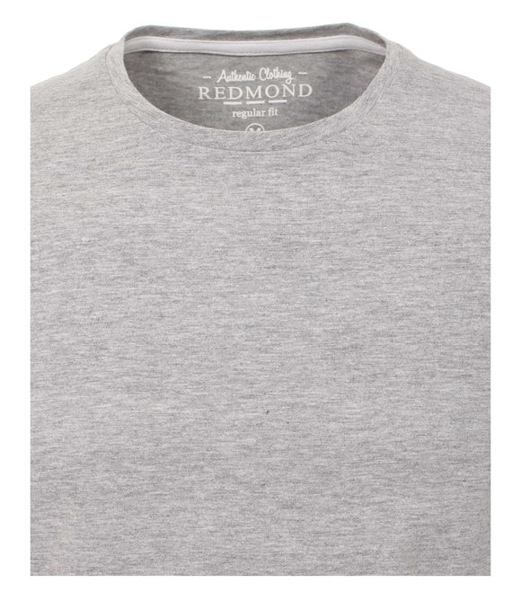 Redmond T-Shirt, regular fit, round-neck, hellgrau