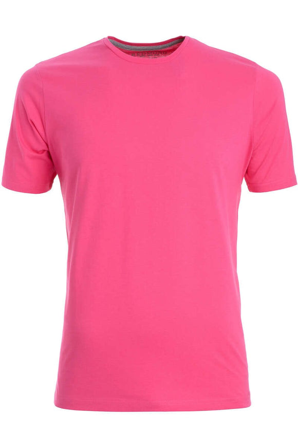 Redmond T-Shirt, regular fit, round-neck, 100% Baumwolle, pink
