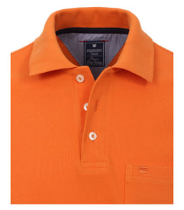 Redmond Poloshirt, regular fit, 100% Baumwolle-piqué, orange