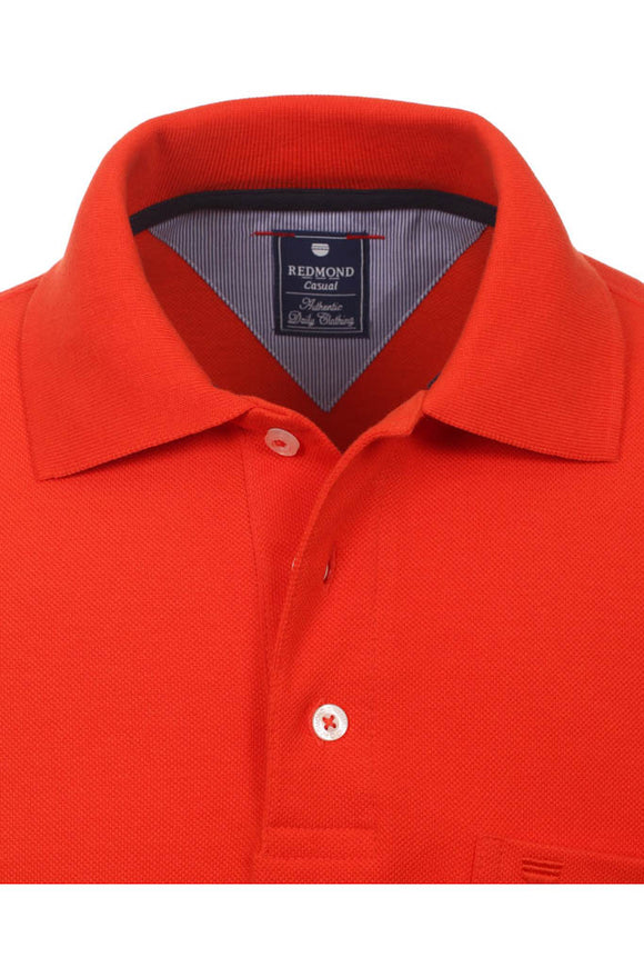 Redmond Poloshirt, regular fit, 100% Baumwolle-piqué, terracotta