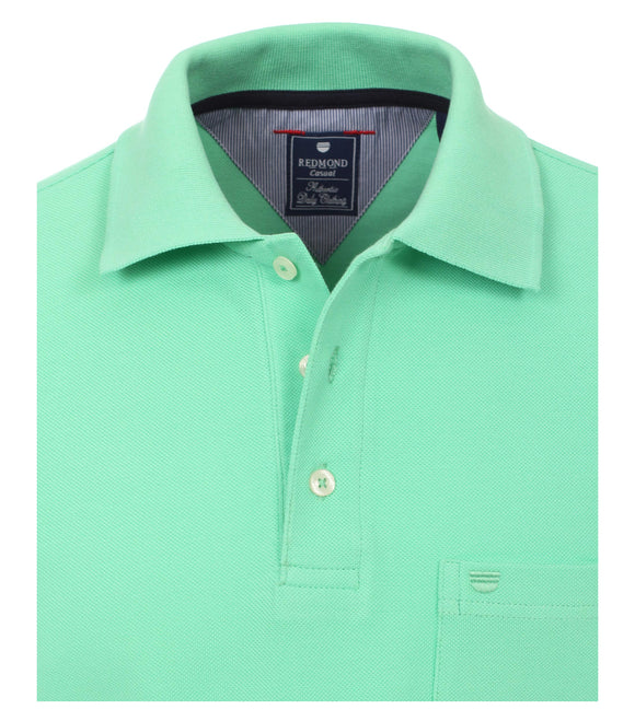 Redmond Poloshirt, regular fit, 100% Baumwolle-piqué, mint