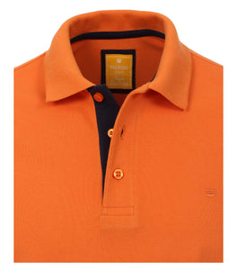 Redmond Poloshirt, modern fit, 100% Baumwolle-piqué, orange