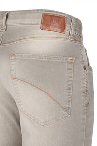 Club of Comfort, Super-High-Stretch-Jeans, mittelbeige used