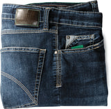 Club of Comfort, Super-High-Stretch-Jeans, dark blue used