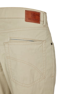 Club of Comfort, 5-Pocket, Pima Baumwoll-Gabardine, sand