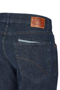 Club of Comfort, Super-High-Stretch-Jeans, dark blue
