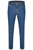 Club of Comfort, Super-High-Stretch-Jeans, light blue