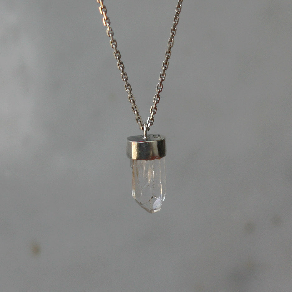 Mini Clear Quartz Necklace