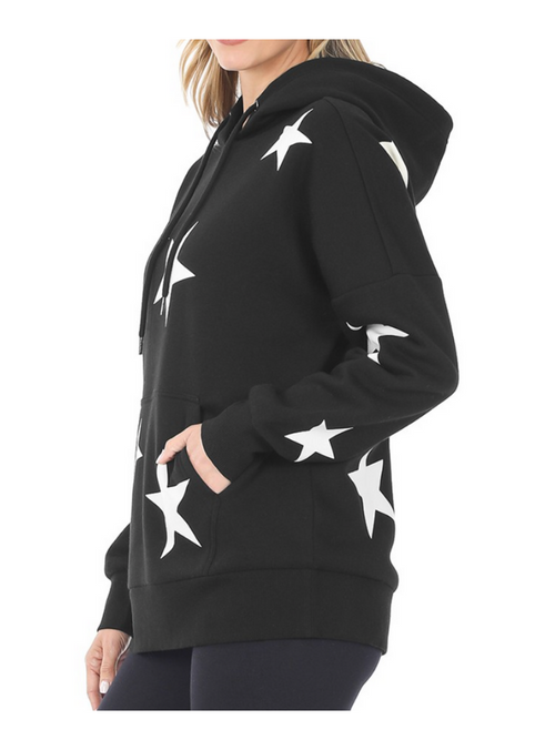 Sunday Morning Star Hoodie