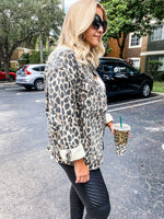 Leopard Oversized Jacket