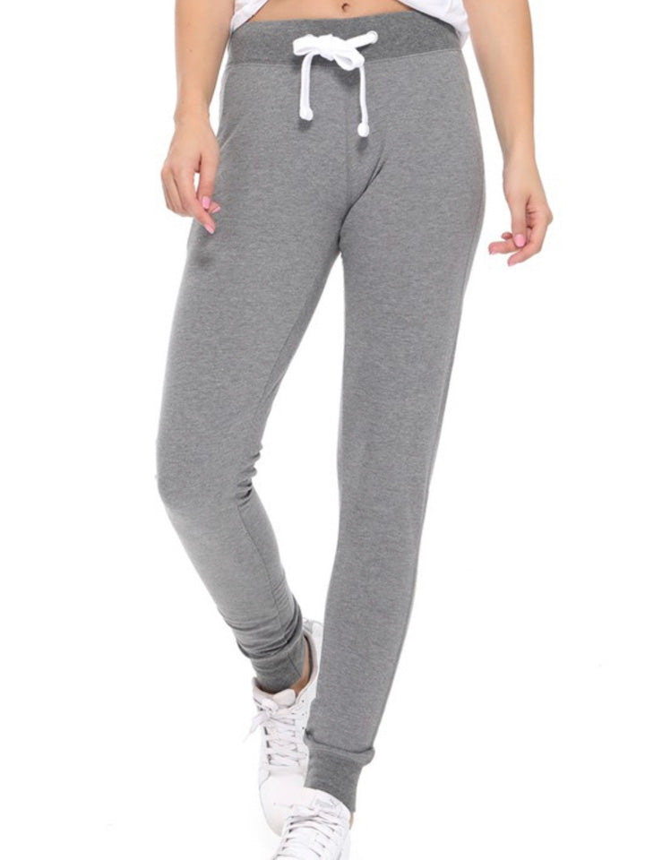 French Terry Joggers Heather Gray