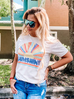 Give Me Sunshine Tee Heather Dust