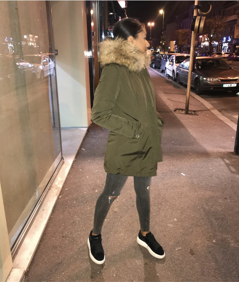 Parka Shay Fourrure Authentique