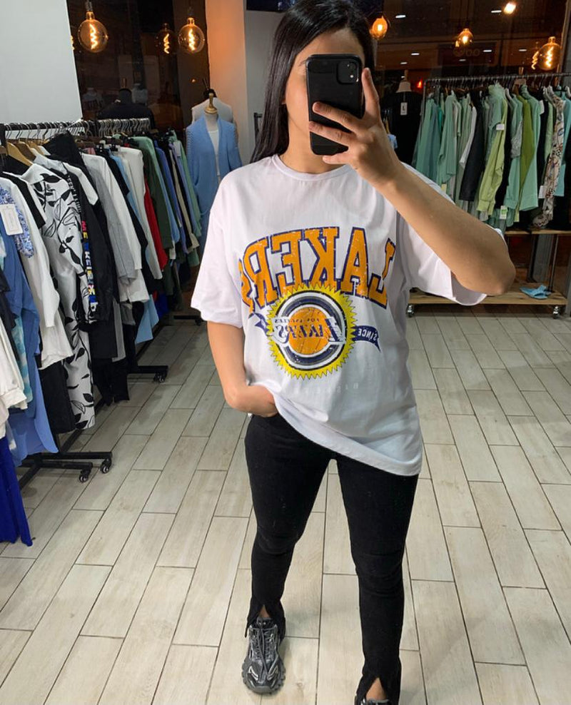 T-shirt Lakers