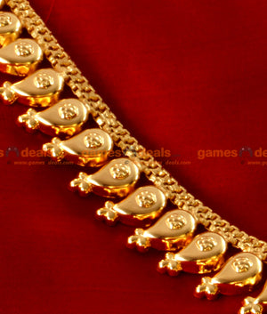 Traditional Light Weight Mango Necklace Long Haram for Women