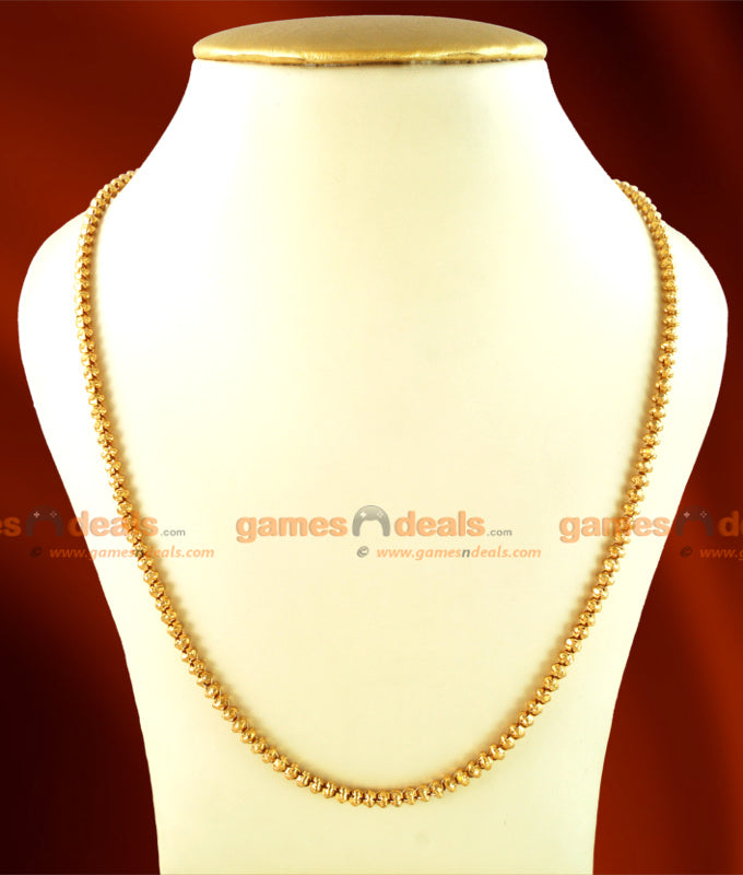 CKMN01 - Gold Plated Jewelry Kerala Kumil Mani Model