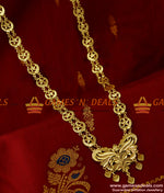 Traditional Two Line Governor Maalai Crescent Haaram Guarantee Jewelry