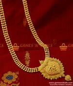 Traditional Beaded Haaram Design One Year Guarantee Imitation Jewelry Online