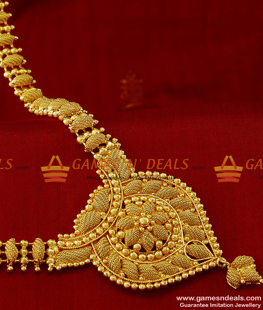 Party Design Beaded Net Haaram One Year Guarantee Imitation Jewelry Online