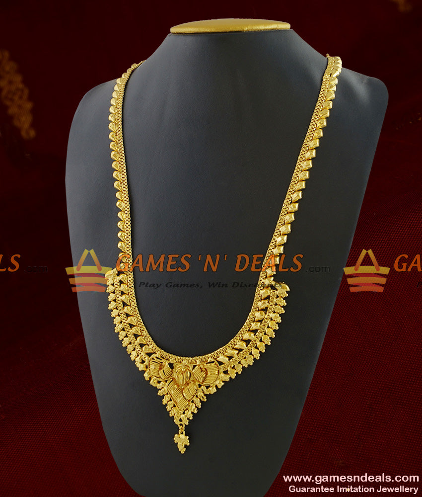 Light Weight Gold Plated Jewellery Traditional Calcutta Design Haaram