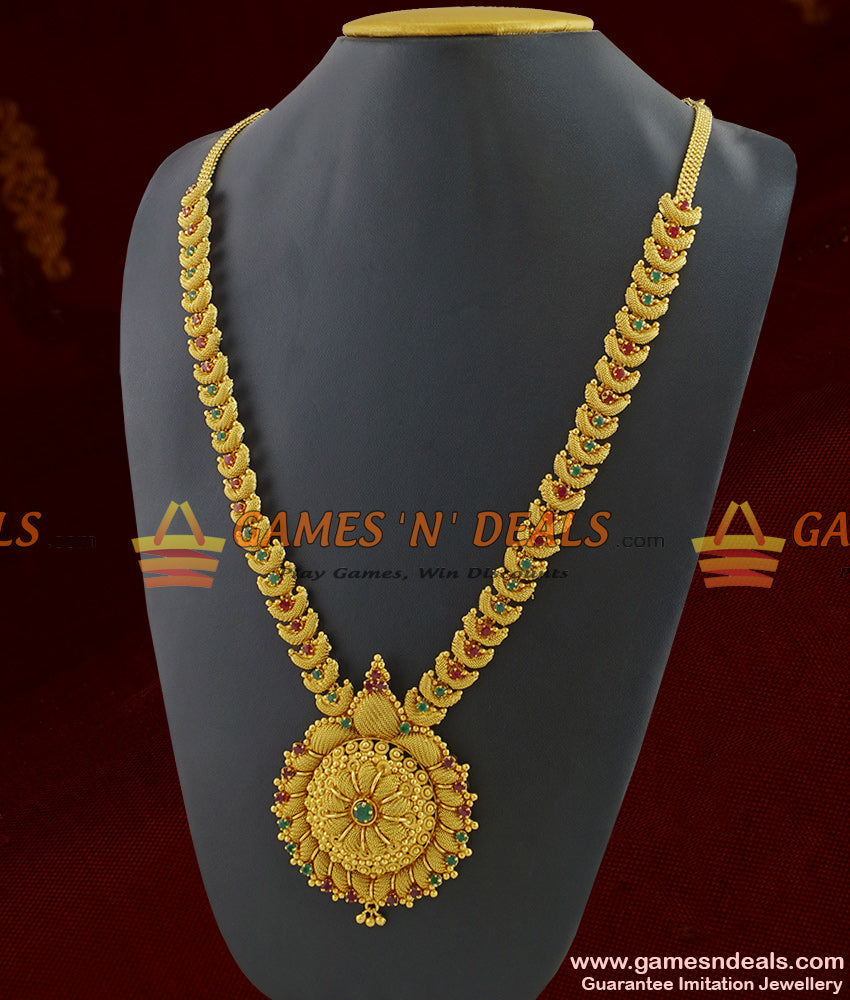 Premium Gold Plated AD Stone Dollar Necklace For Women Buy Online