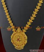 Preimium Gold Grand Bridal Stone Necklace for Marriage and Engagements