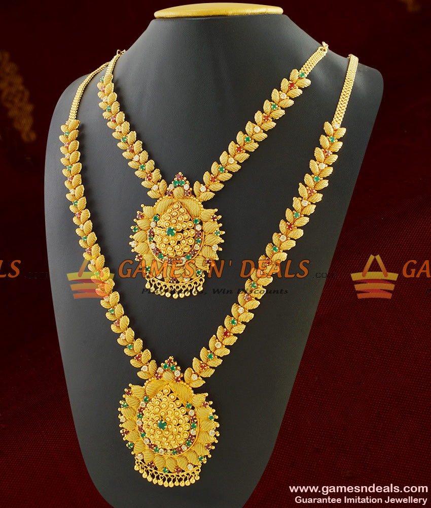 Attractive Necklace Combo for Engagement and Farewell Functions for Women