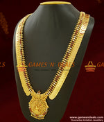 Grand AD stone Lakshmi Dollar Kasu Malai | One Year Guarantee Necklace