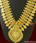 Heavy Long Governor Malai for Kerala Marriage Bridal Collections Jewelry