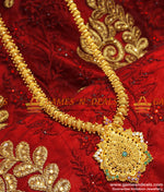 30 inches Unique Party Wear Net Haram Online Imitation Jewellery