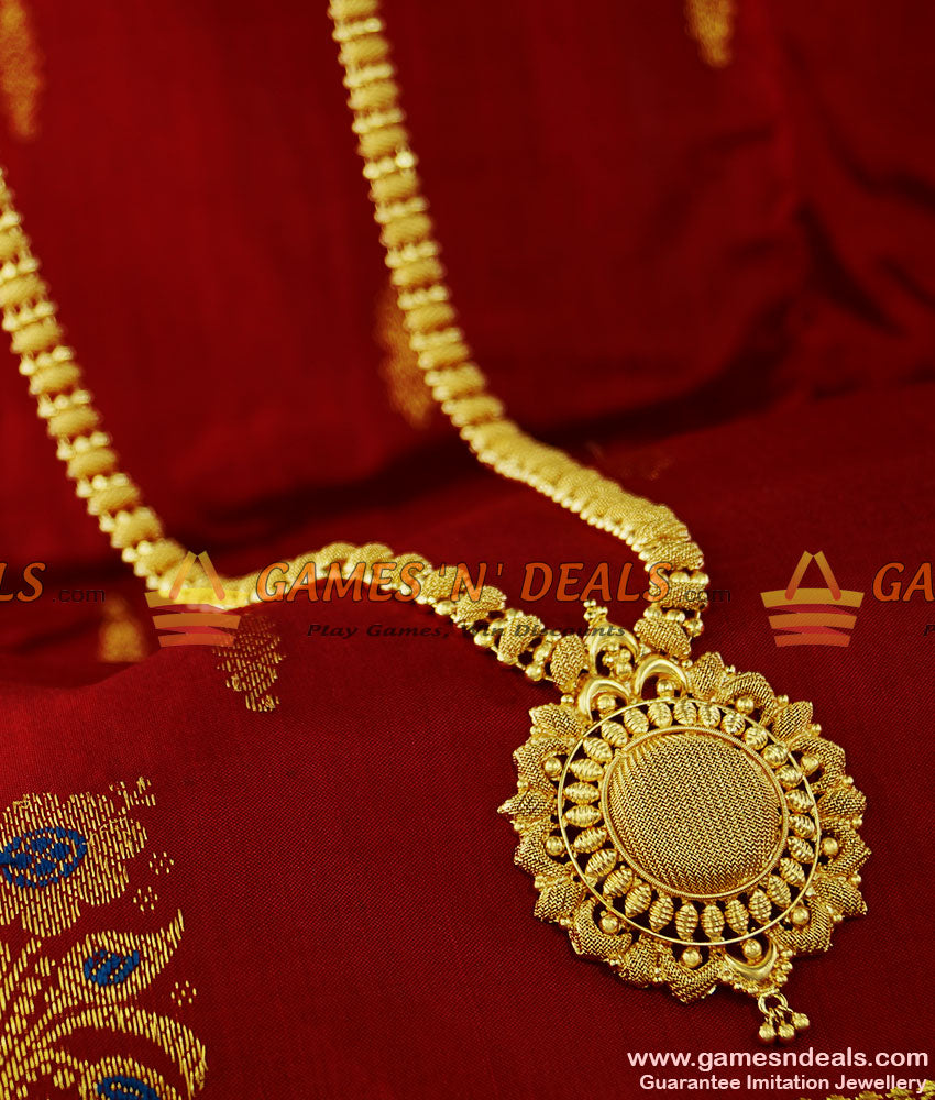 Latest Bridal Beaded Imitation Haaram Design Handmade Dollar