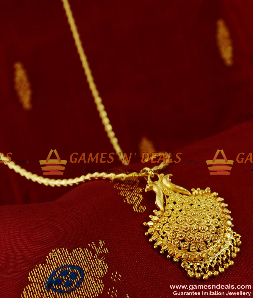 BGDR116 - Party Wear Kerala Type Dollar South Indian Jewellery Buy Online