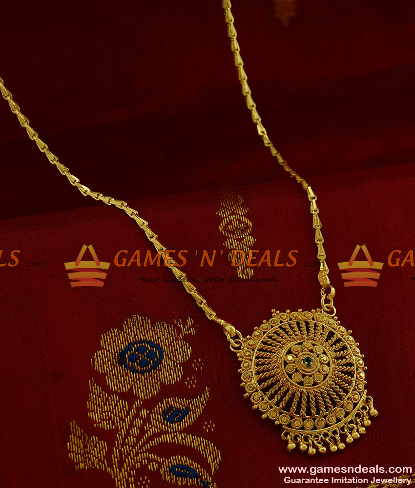 BGDR187 - Light Weight Chakra Dollar with Beads Wheat Chain Low Price Online