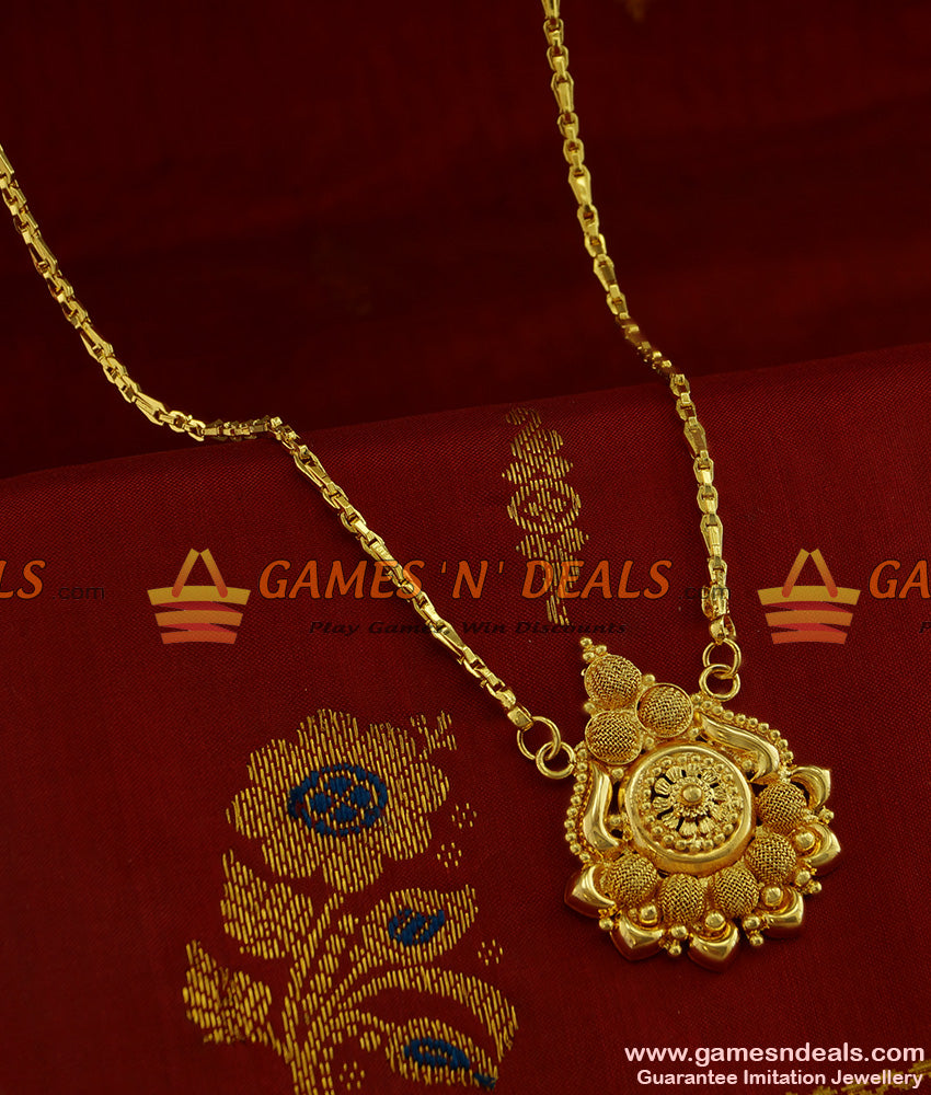 BGDR246 - Traditional Light Weight Gold Like Design Plain Imitation Dollar