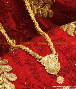 BGDR67 - Gold Plated Trendy Dollar Design Chain South Indian Jewelry Online