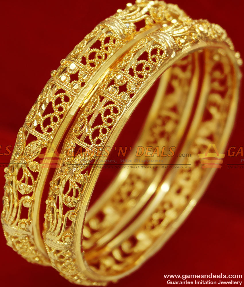 Plain Bangles Set Without Stone
