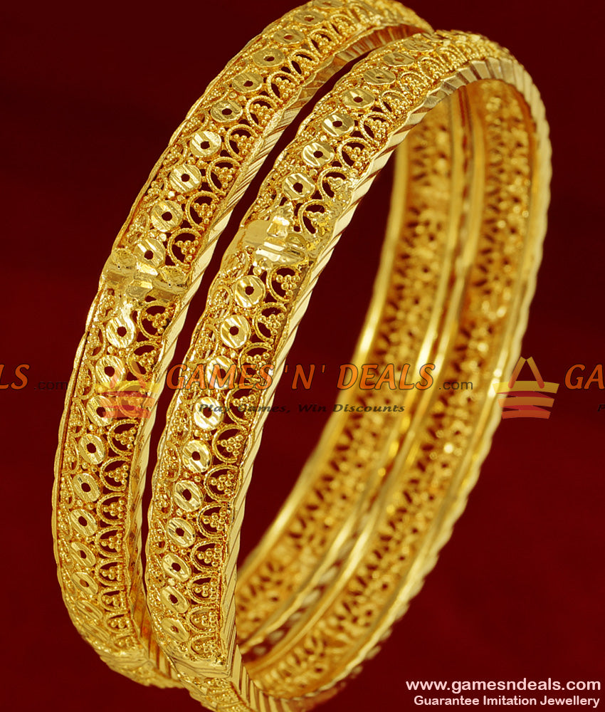 Gold Design Bangles for Girls